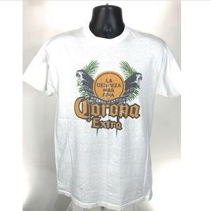 Corona Extra Tee Shirt Mens Size M Medium White
